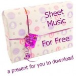 Free Sheet Music Pink web