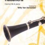habanera for clarinet